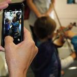 iPhones and violins