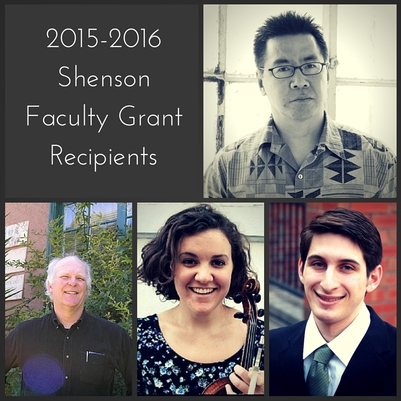 2015-2016 Shenson Faculty Grant Recipients-2